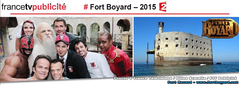 Fort Boyard 2015: dix émissions cet été le samedi en prime time