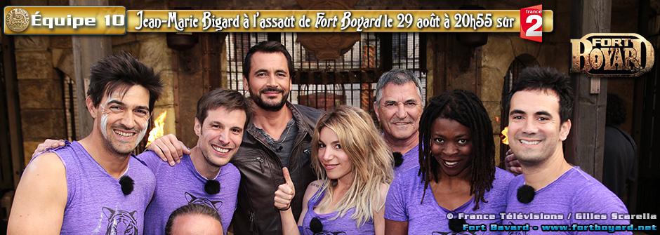 Fort Boyard 2015: Équipe n°10 de Jean-Marie Bigard - Samedi 29 août 2015