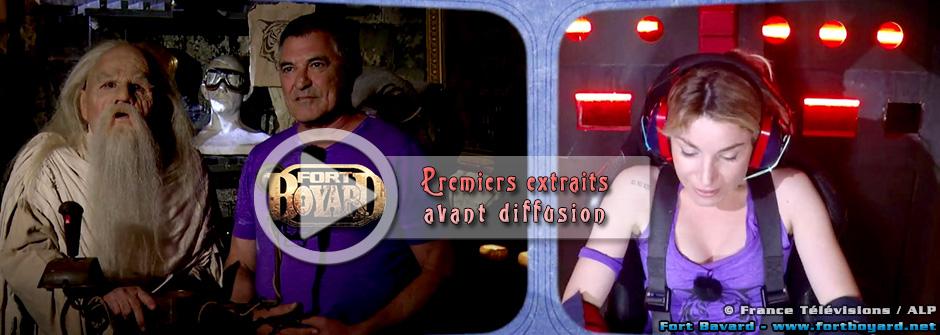 Fort Boyard 2015: découvrez tous les extraits de l'émission du 29 août 2015 avant la diffusion
