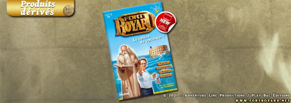 Les cahiers de vacances Fort Boyard se préparent pour l'été!
