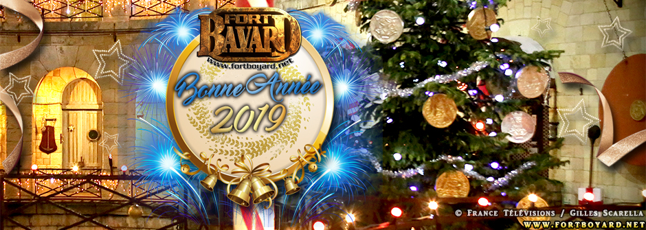 FortBoyard.net vous souhaite une Bonne Année 2019!