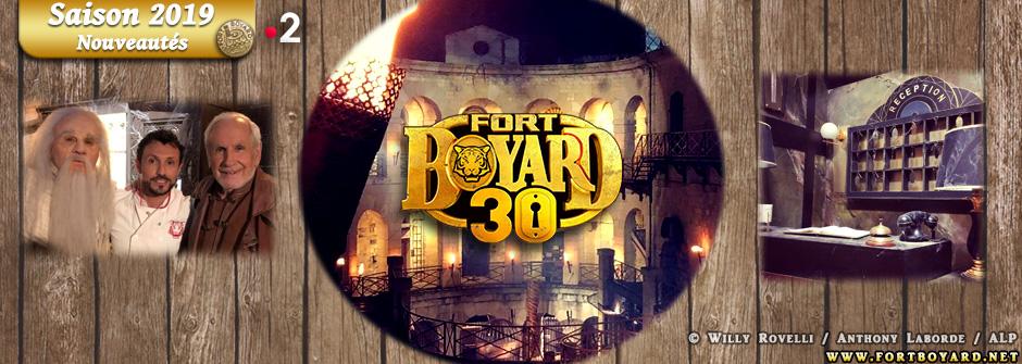 Fort Boyard 2019: toutes les nouveautés de la saison (épreuves, personnages, décors, candidats…)