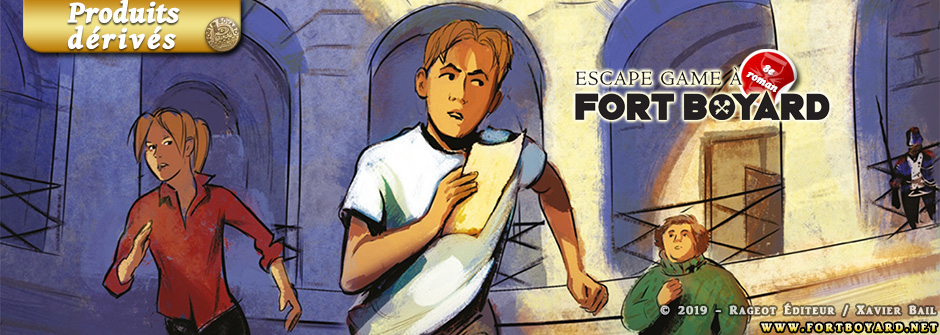 Alain Surget lance son «Escape Game à Fort Boyard» pour son 8e roman de la série Fort Boyard!