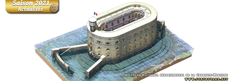 Fort Boyard: vers une reconstruction du brise-lames et du havre d'abordage à l'horizon 2023