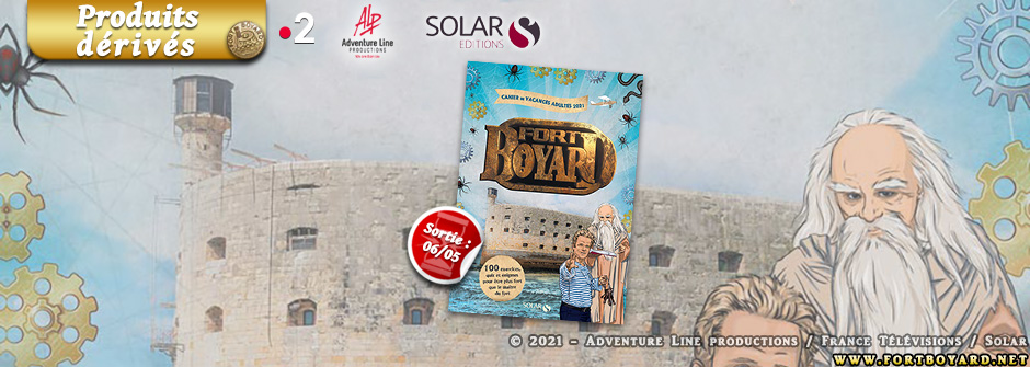 Solar sort le premier cahier de vacances Fort Boyard pour adultes!