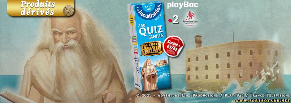 Découvrez  le bloc quiz Fort Boyard des Incollables édité par PlayBac